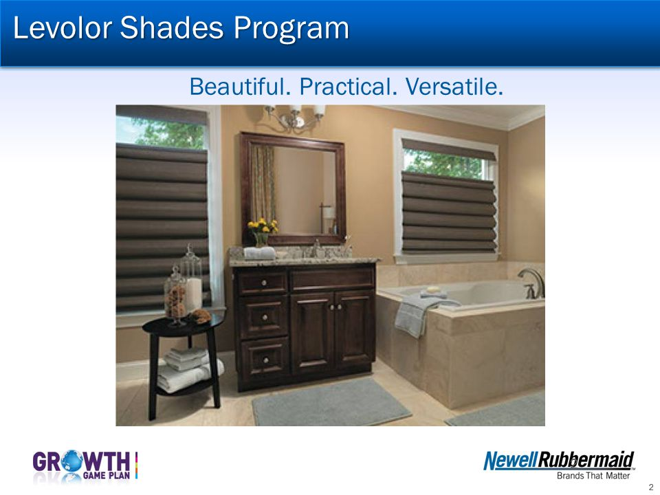 Levolor Shades Program