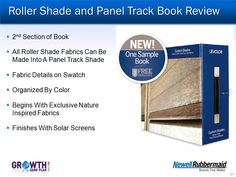 Roller Shade and Panel Track Book Review