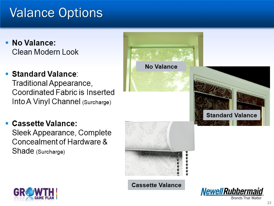 Valance Options No Valance: Clean Modern Look