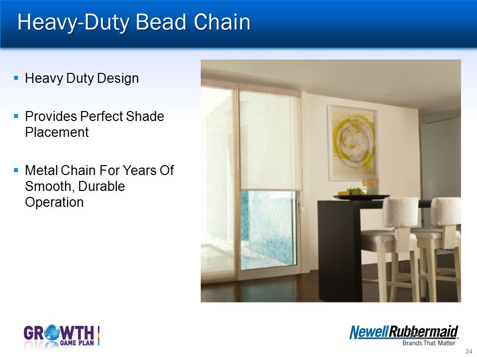 Heavy-Duty Bead Chain Heavy Duty Design