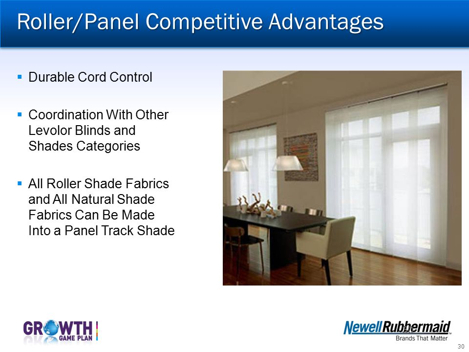 Roller/Panel Competitive Advantages