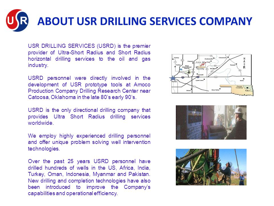 ABOUT USR DRILLING SERVICES COMPANY