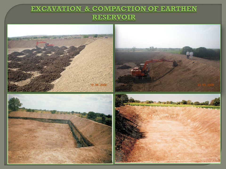 Excavation & Compaction of Earthen Reservoir