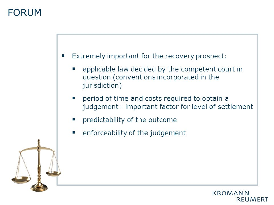 forum Extremely important for the recovery prospect: