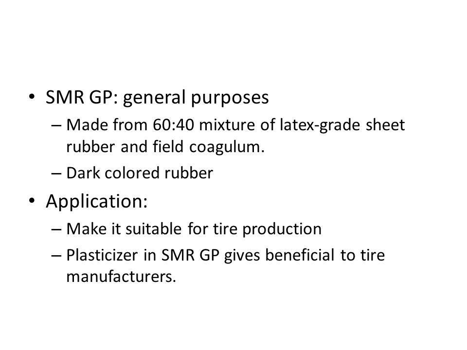 SMR GP: general purposes