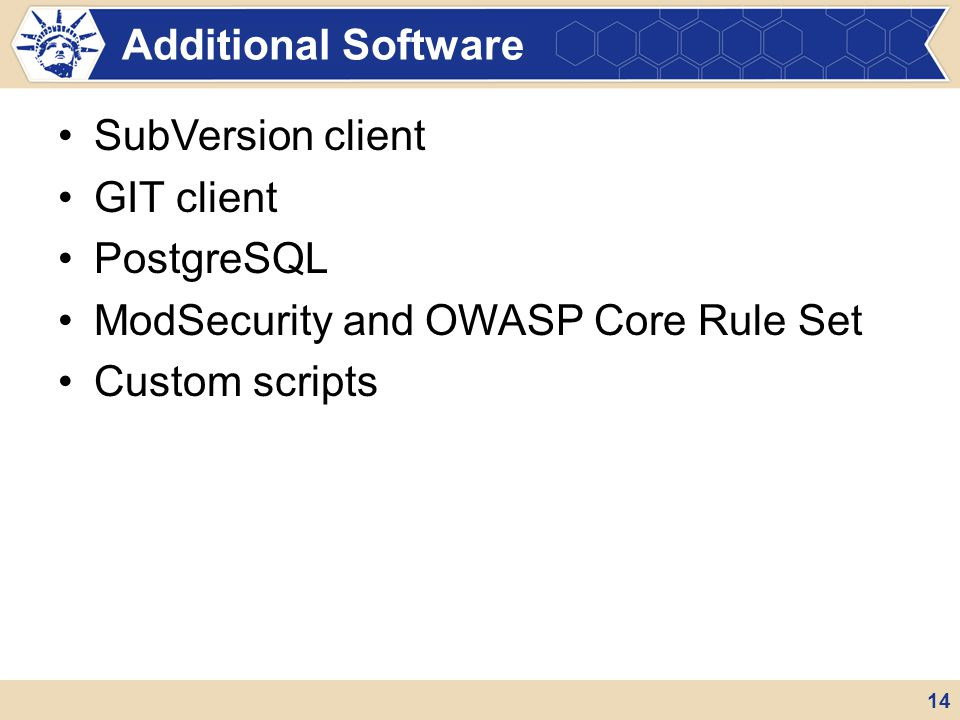 ModSecurity and OWASP Core Rule Set Custom scripts