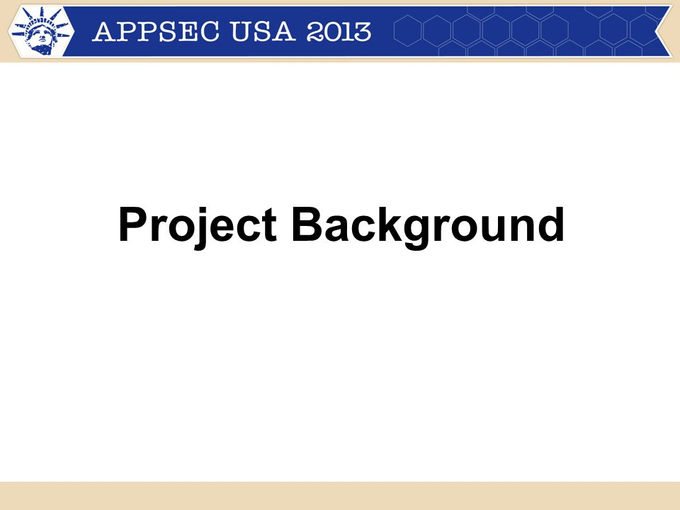 Project Background