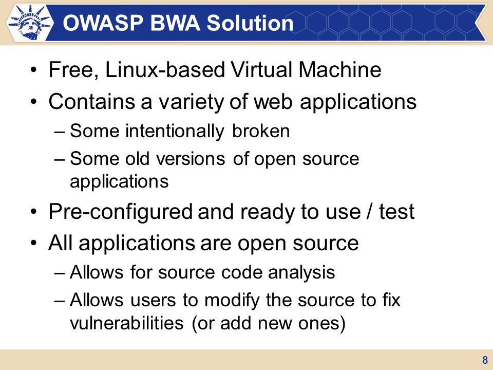 Free, Linux-based Virtual Machine