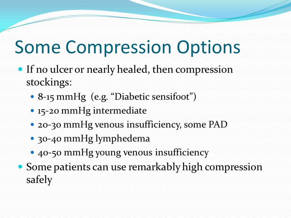 Some Compression Options