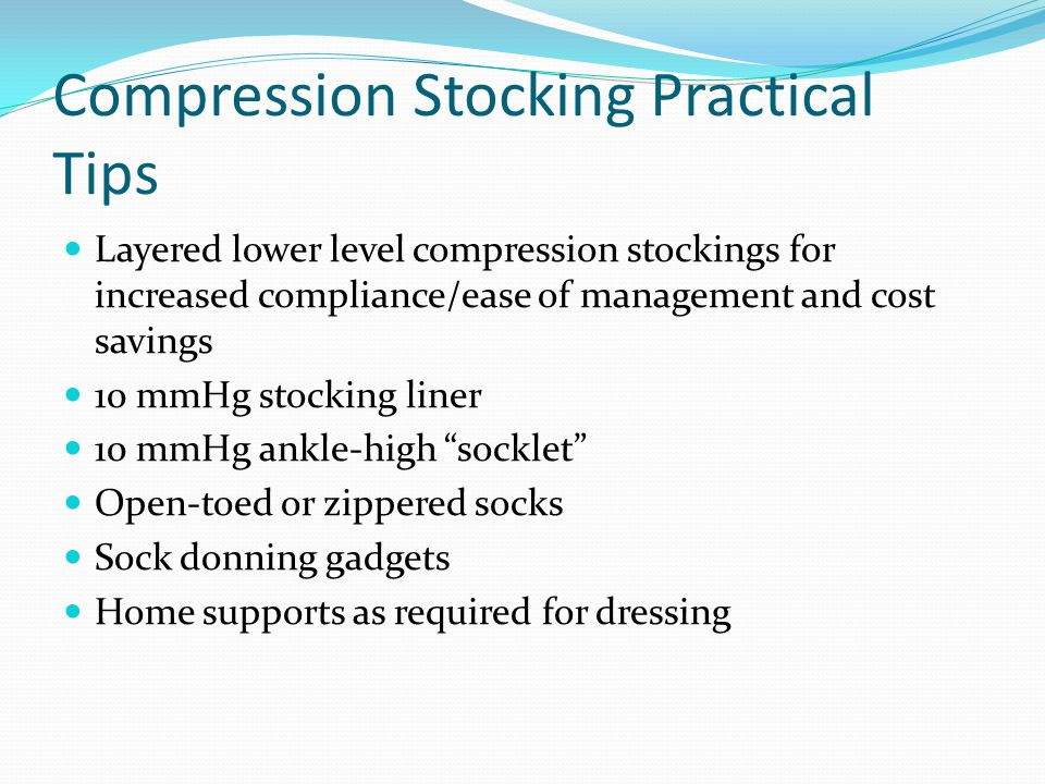 Compression Stocking Practical Tips