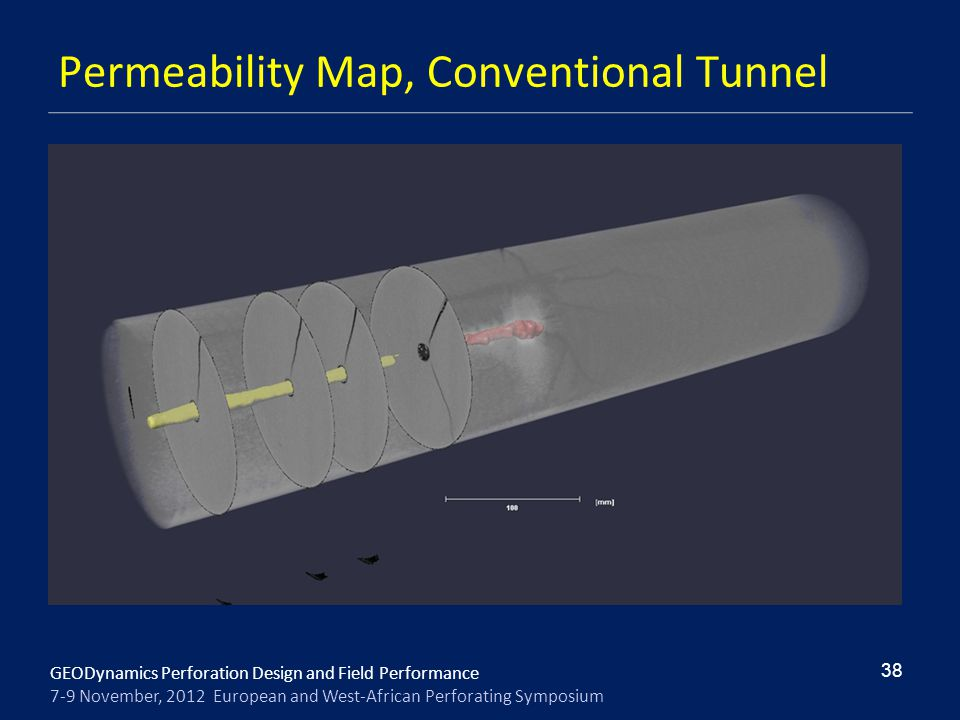 Permeability Map, Conventional Tunnel