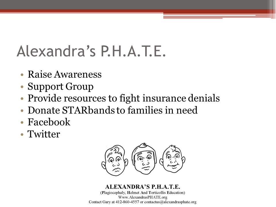 Alexandra's P.H.A.T.E. Raise Awareness Support Group