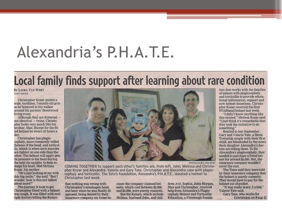 Alexandria's P.H.A.T.E.