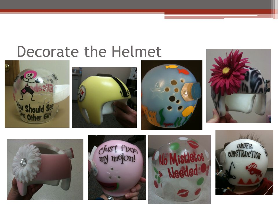 Decorate the Helmet