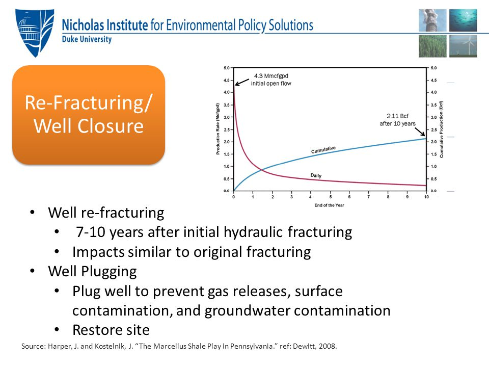 Re-Fracturing/ Well Closure