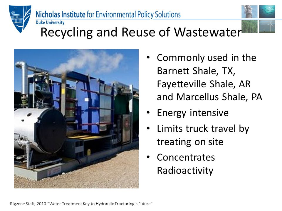 Recycling and Reuse of Wastewater