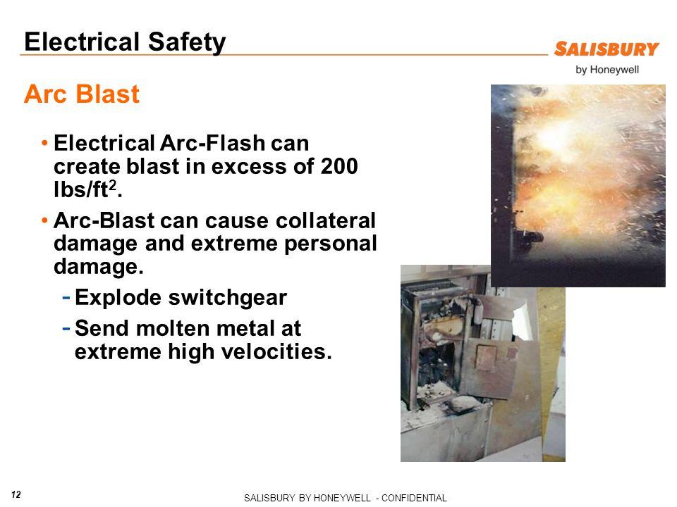 Electrical Safety Arc Blast