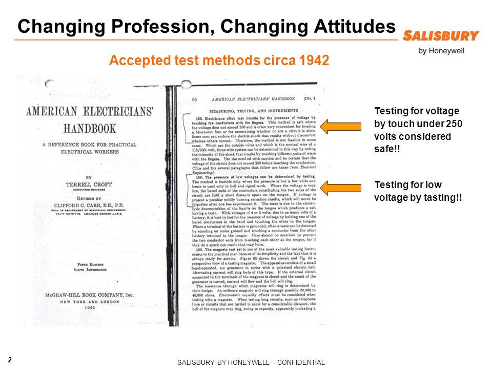 Changing Profession, Changing Attitudes