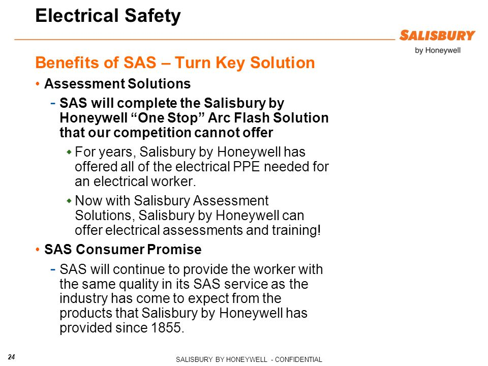 Electrical Safety Benefits of SAS – Turn Key Solution