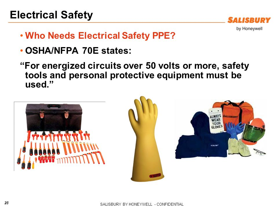 Electrical Safety Who Needs Electrical Safety PPE