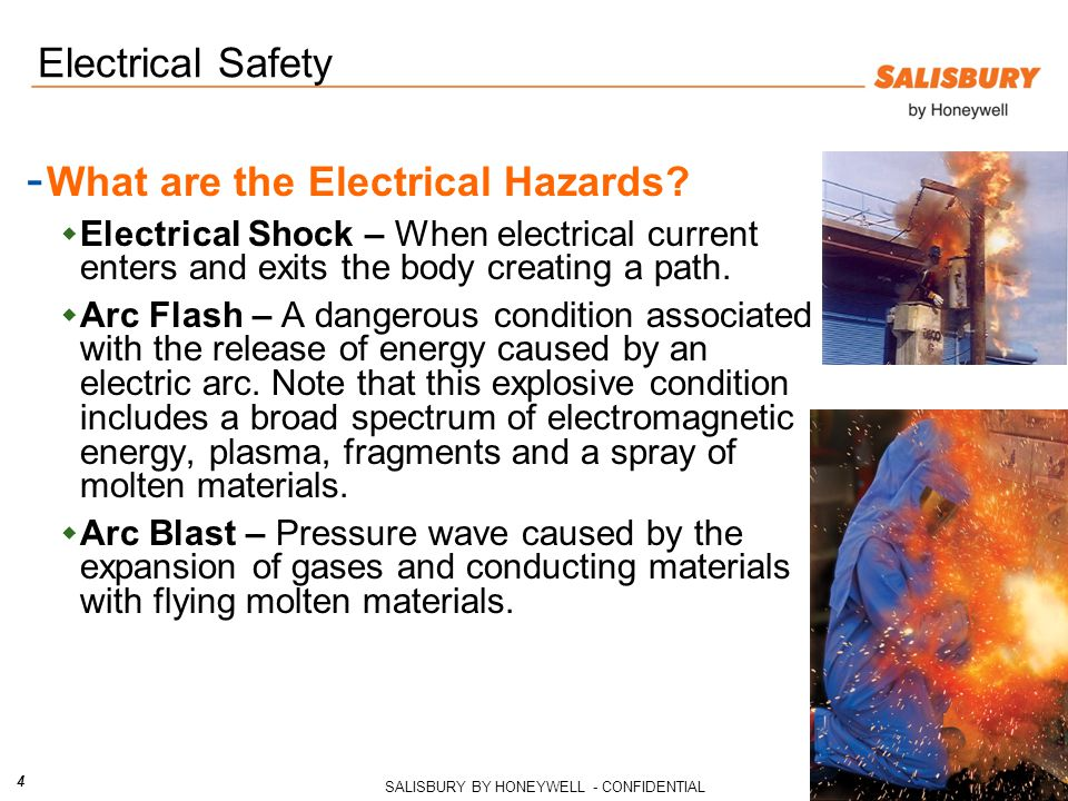 What are the Electrical Hazards
