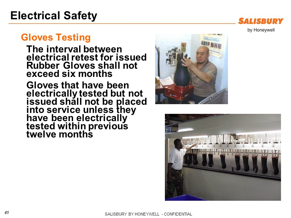 Electrical Safety Gloves Testing