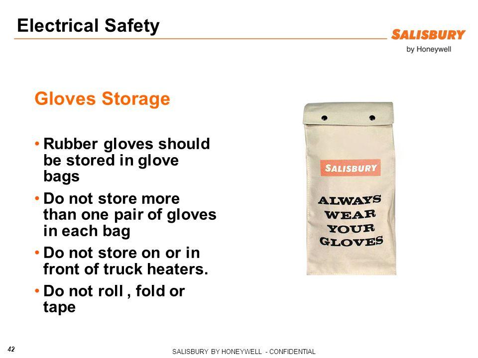 Electrical Safety Gloves Storage