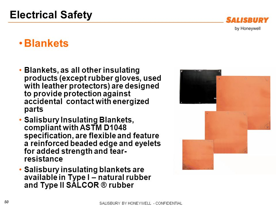 Electrical Safety Blankets
