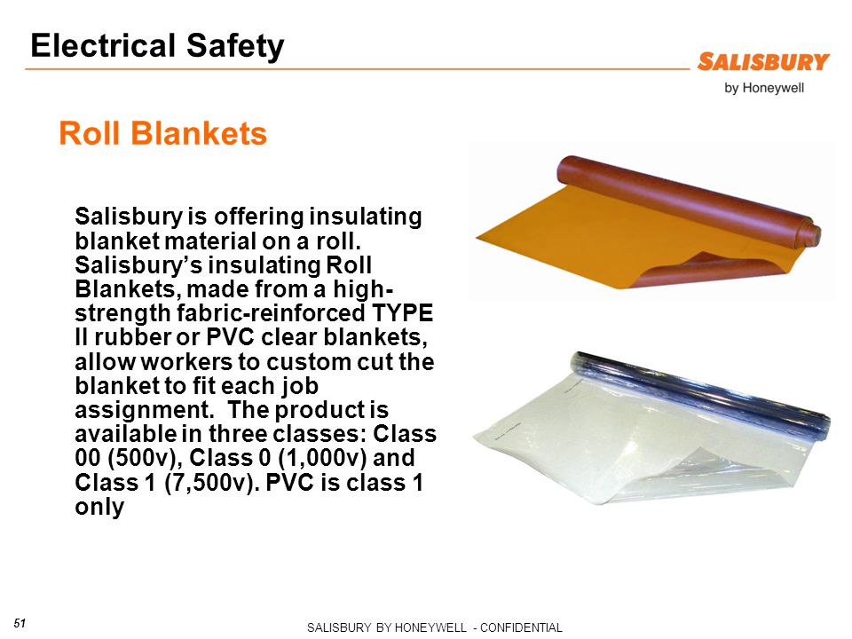 Electrical Safety Roll Blankets
