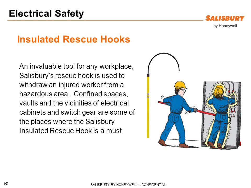 Insulated Rescue Hooks