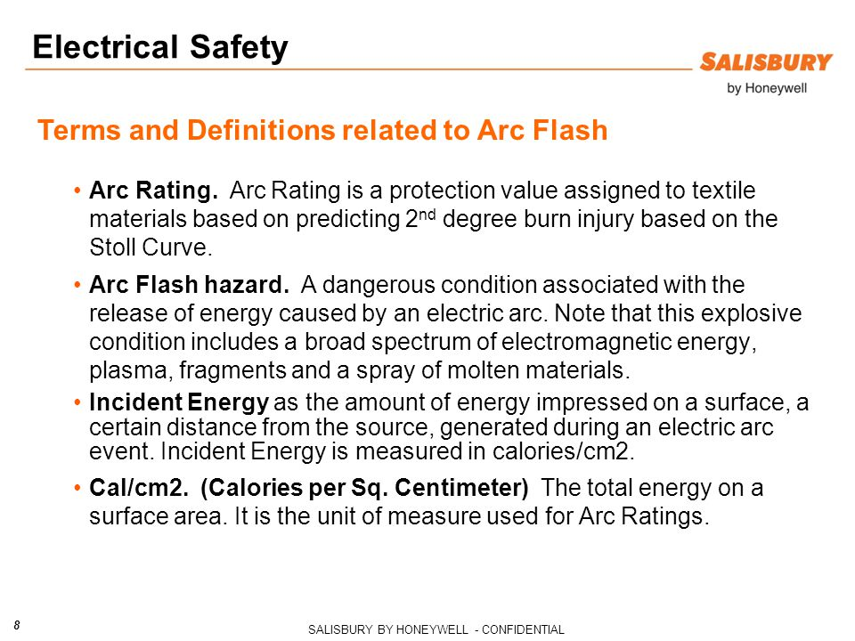 Electrical Safety Terms and Definitions related to Arc Flash
