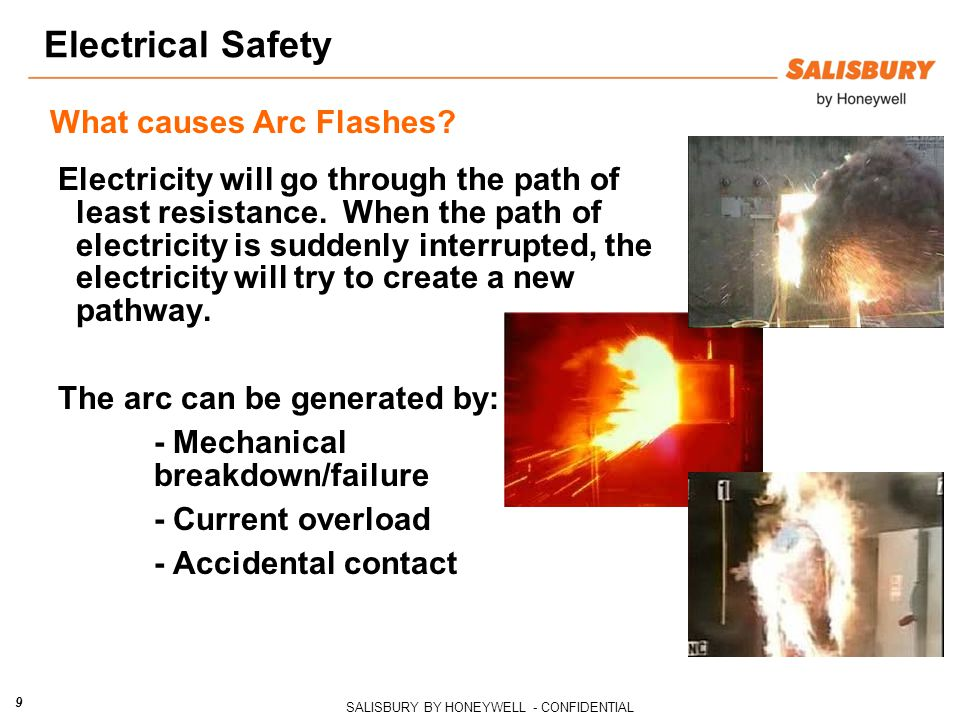 Electrical Safety What causes Arc Flashes