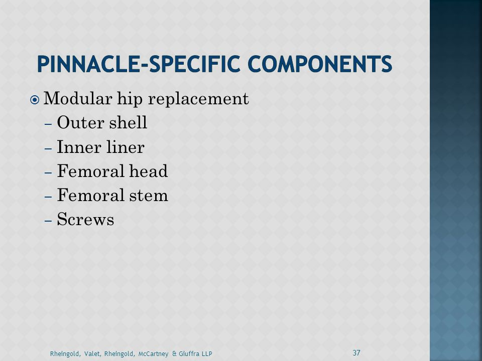 Pinnacle-Specific Components