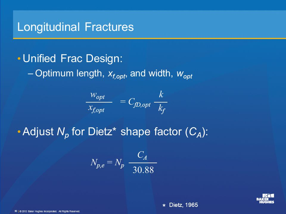 Longitudinal Fractures