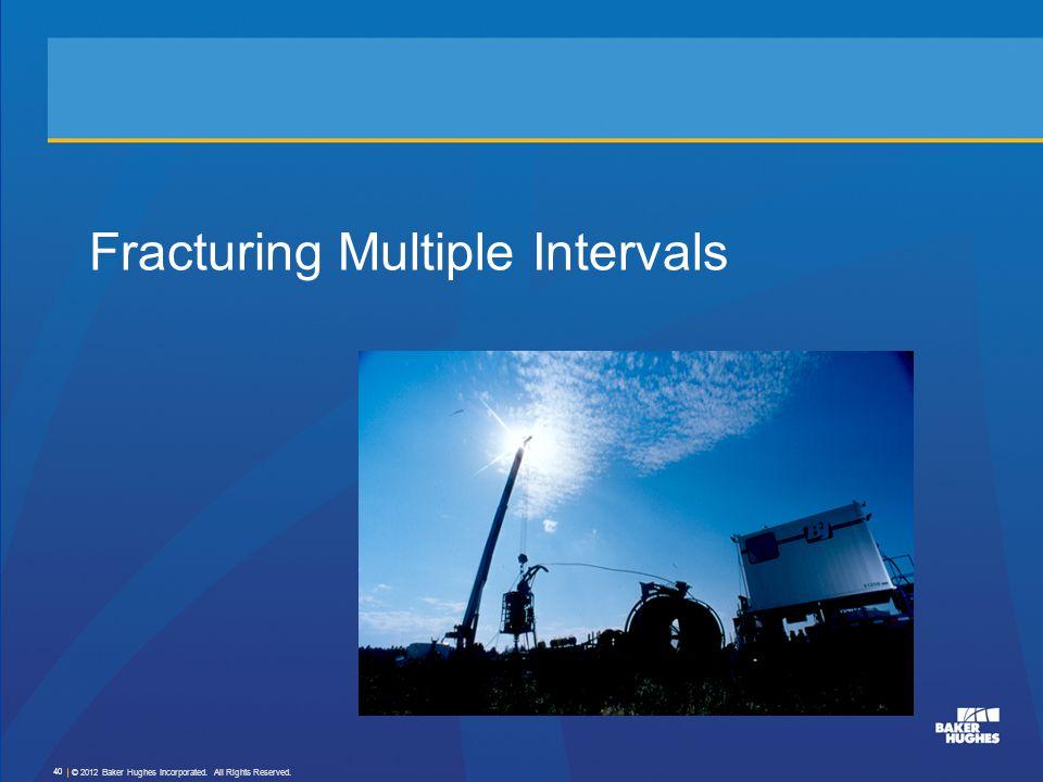 Fracturing Multiple Intervals