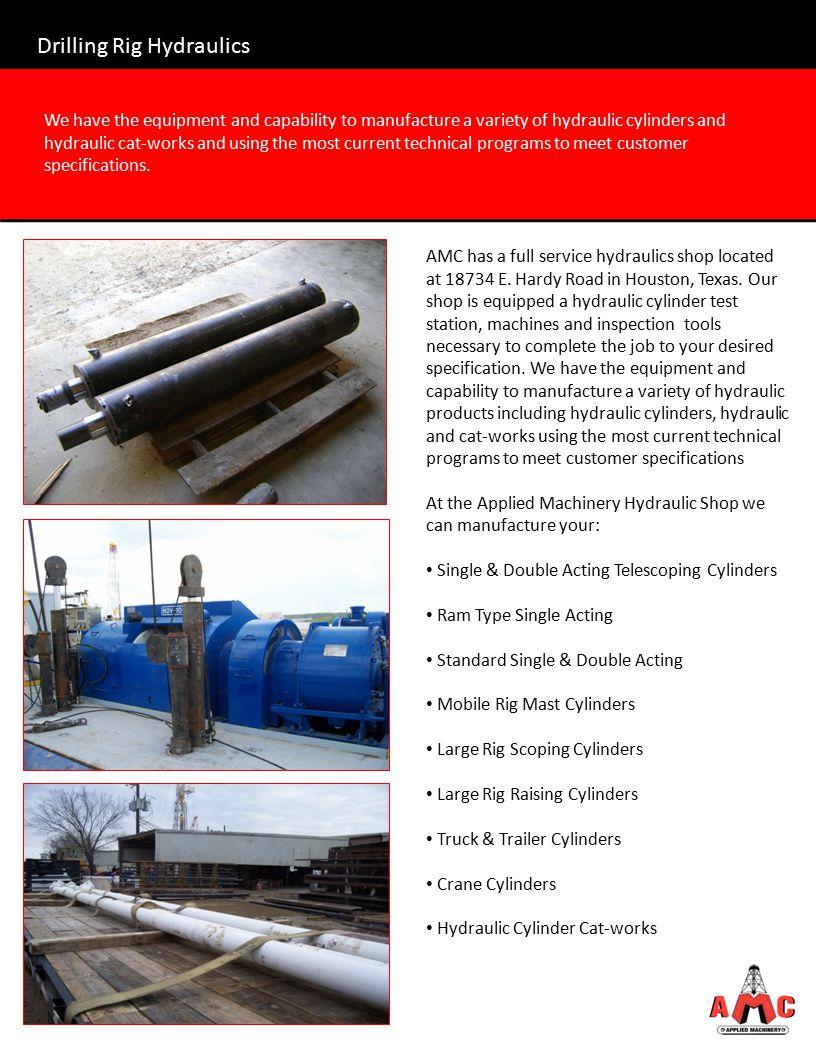 Drilling Rig Hydraulics