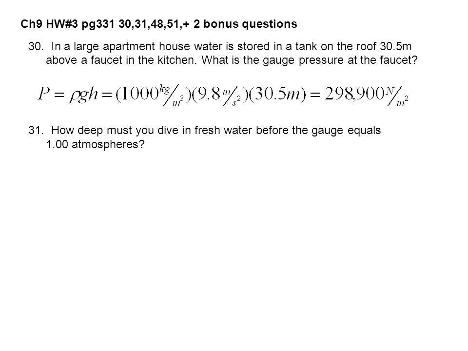Ch9 HW#3 pg331 30,31,48,51,+ 2 bonus questions