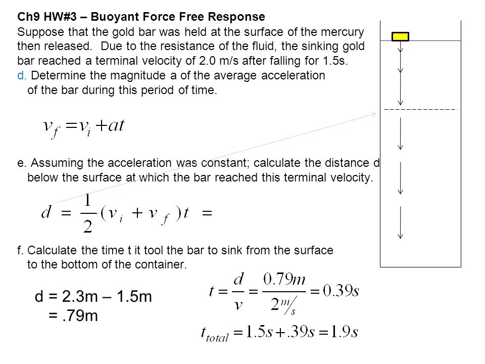 Ch9 HW#3 – Buoyant Force Free Response