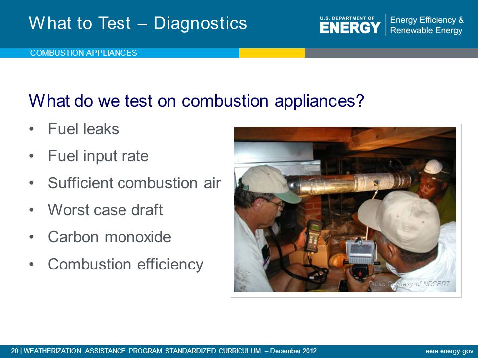 What to Test – Diagnostics