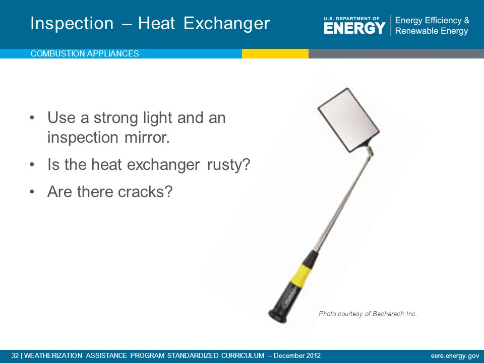 Inspection – Heat Exchanger