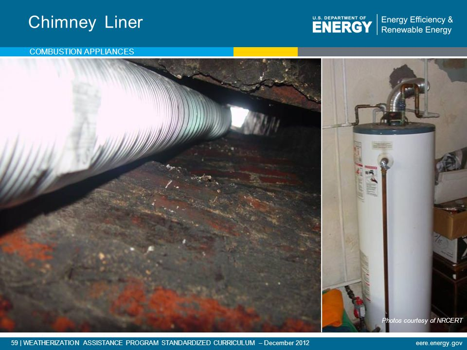 Chimney Liner Combustion appliances