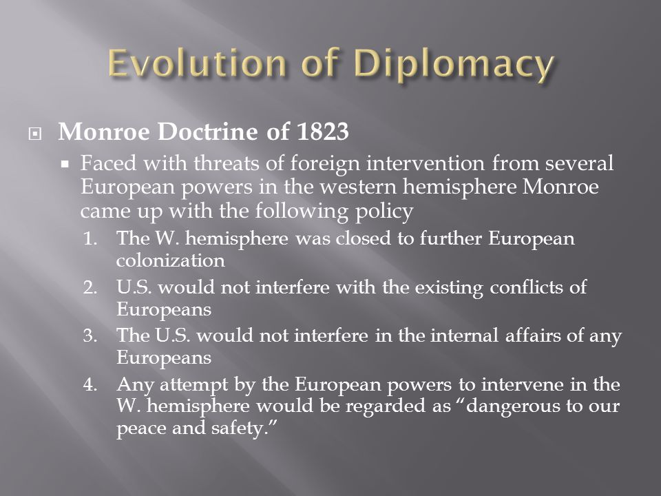 Evolution of Diplomacy