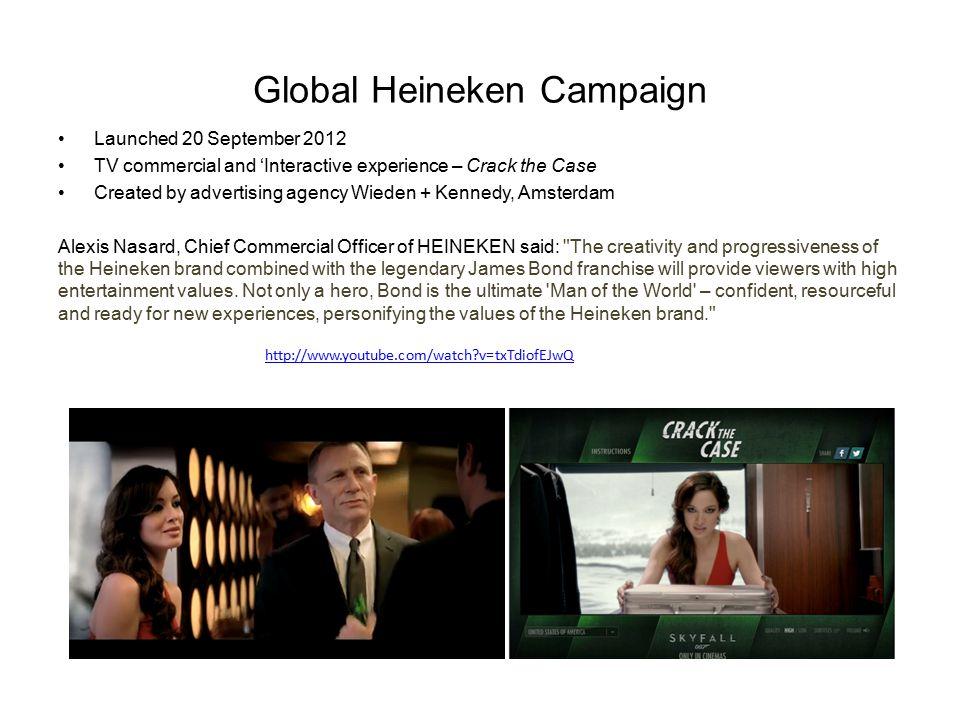 Global Heineken Campaign