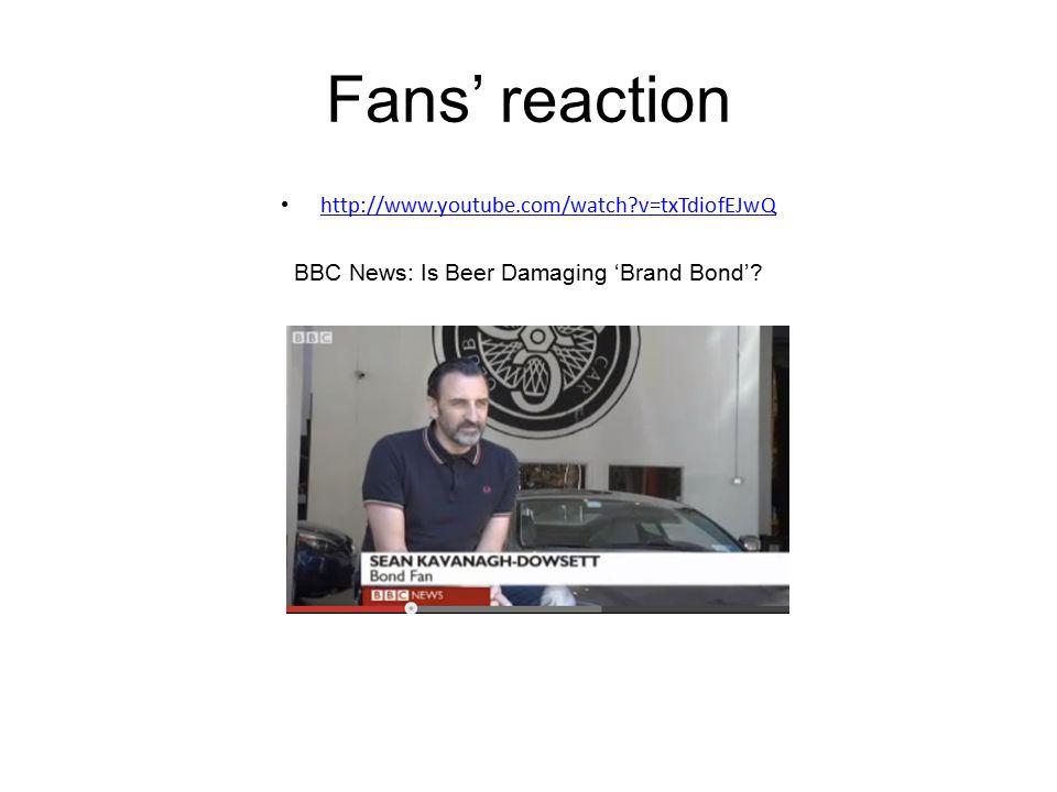 BBC News: Is Beer Damaging 'Brand Bond'