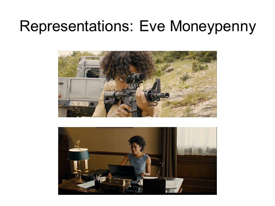 Representations: Eve Moneypenny