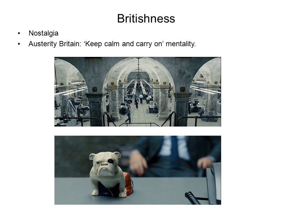 Britishness Nostalgia