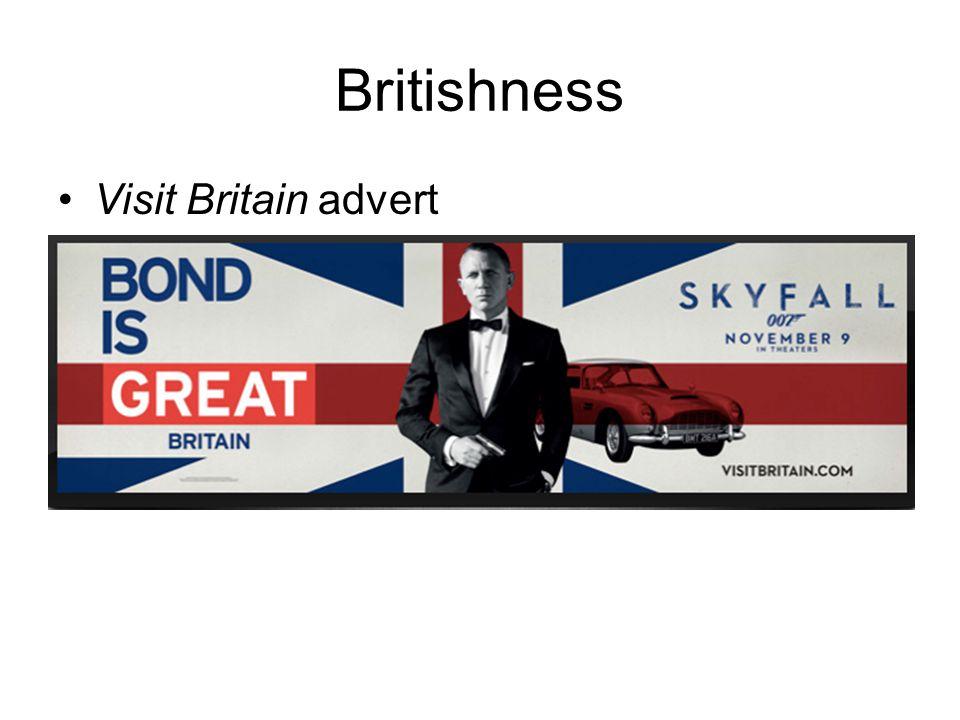 Britishness Visit Britain advert