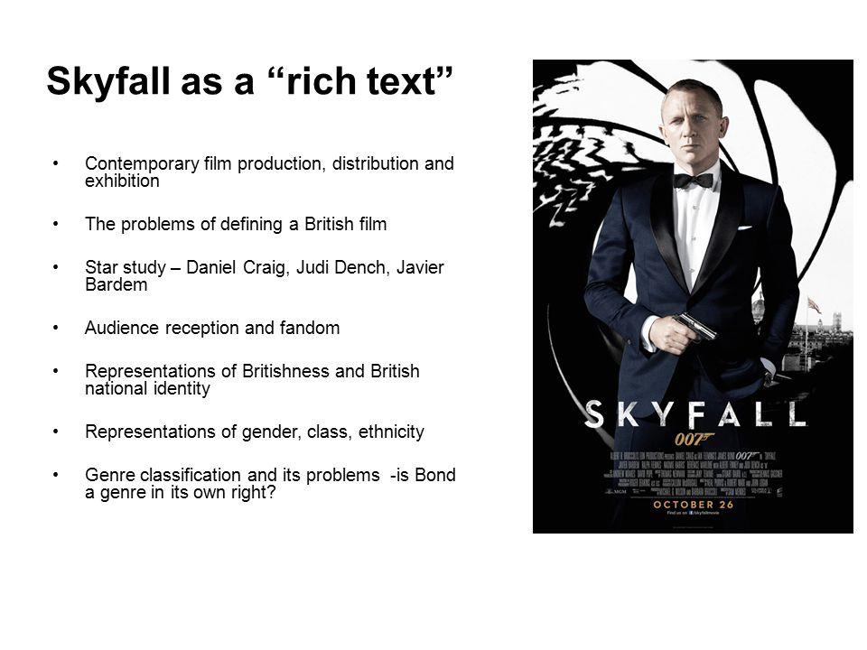 Skyfall as a rich text