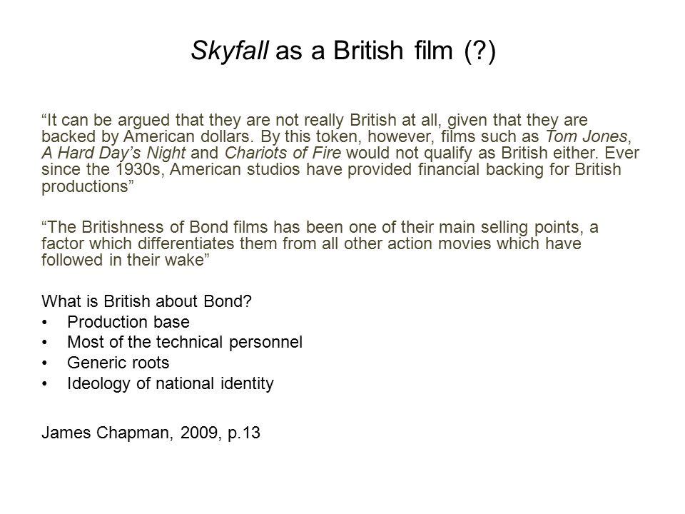 Skyfall as a British film ( )