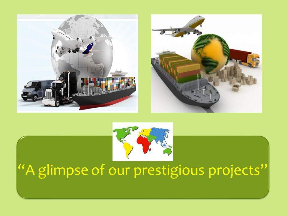 A glimpse of our prestigious projects